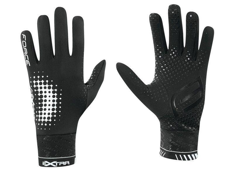 Force Extra Full Gloves Black XXL