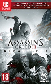 Nintendo Switch spēle Assassin's Creed III and Liberation Remastered SWITCH