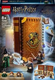 Konstruktors LEGO Harry Potter Mirklis Cūkkārpā: pārvērtību stunda 76382, 241 gab.