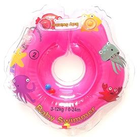 Piepūšams riņķis Baby Swimmer Neckring, rozā, 400 mm