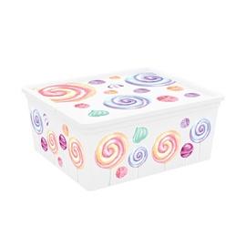 KIS C-Box Portobello Storage Box With Lid 18l