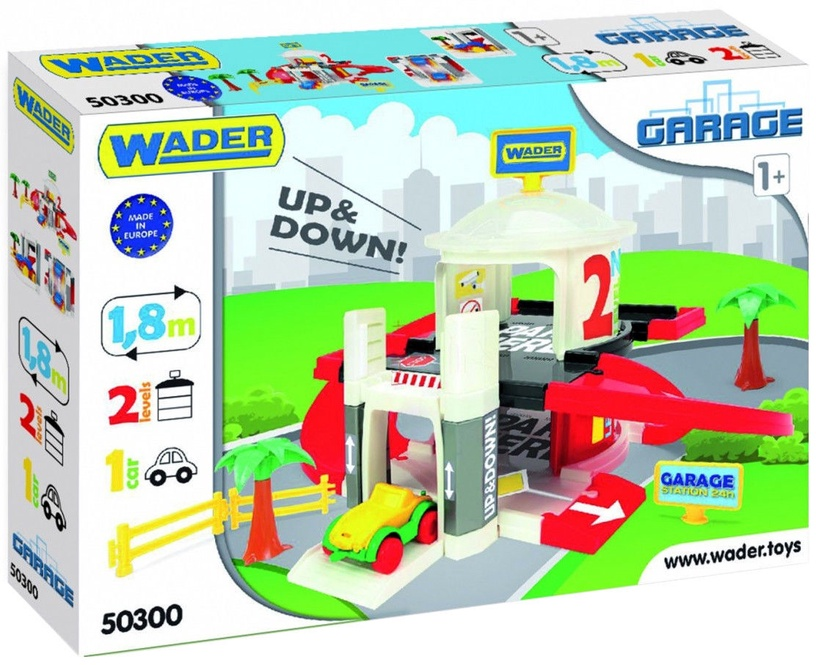 Wader Multi Level Garage With A Lift 2 Levels 50300