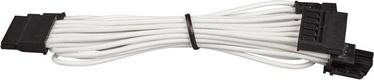 Corsair Premium Individually Sleeved SATA Cable Type 4 (Gen 3) White