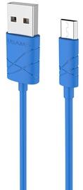 Usams U-GEE USB To Micro USB Cable 1m Blue