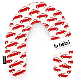 La Bebe Rich Cotton Nursing Maternity Pillow Cars Red/White 102773