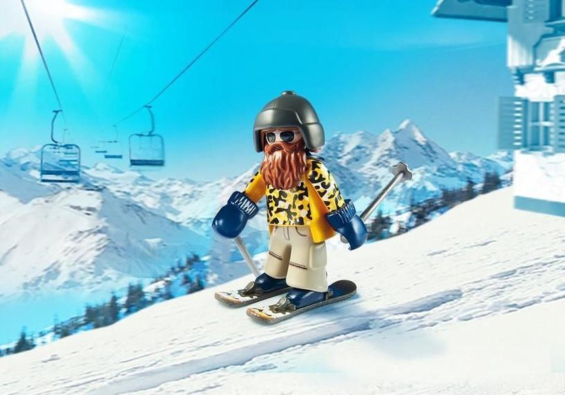 Playmobil Family Fun Skier With Poles 9284