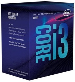 Intel® Core™ i3-8100 3.60 GHz 6M LGA1151 BX80684I38100