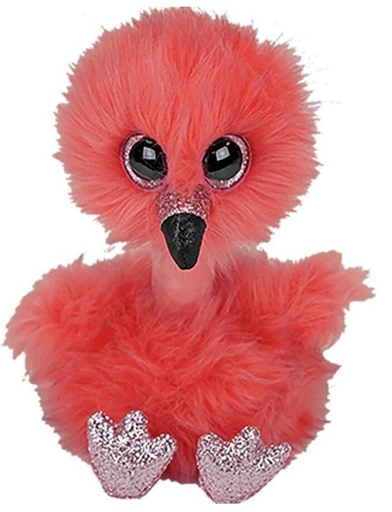 Mīkstā rotaļlieta TY Flamingo, 15 cm