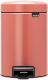 Brabantia NewIcon atkritumu tvertne, 3 l, Terracotta Pink
