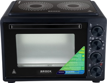 Brock Electric Oven Black TO 3502 BKI