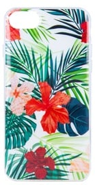 Mocco Spring Back Case For Samsung Galaxy J6 Plus Red Lilly