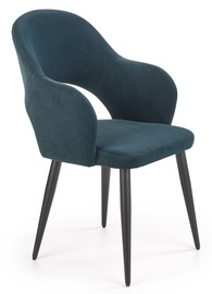 Ēdamistabas krēsls Halmar K364 Dark Green, 1 gab.