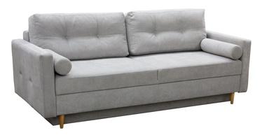 Dīvāngulta Idzczak Meble Pastella Light Grey, 216 x 100 x 74 cm