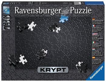 Пазл Ravensburger Puzzle Krypt Black 736pcs 15260
