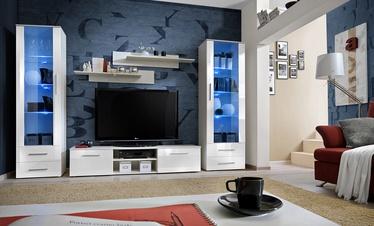 ASM Galino C Wall Unit White/White Gloss