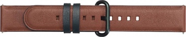 Samsung Active Leather Strap For Samsung Watch Active 2 Brown