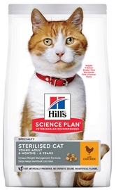 Sausā kaķu barība Hill's Science Plan Sterilised Cat Young Adult Food w/ Chicken 3kg