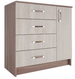 DSV Ronda KMR900.1 Chest Of Drawers Light/Dark Ash Shimo
