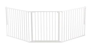 BabyDan Safety Gate Flex L White
