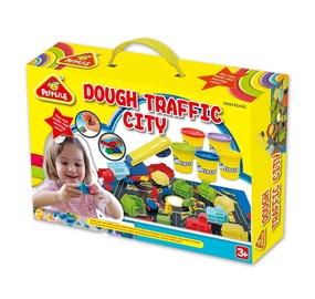 Rotaļlieta modelīns Peipeile Dough Traffic City 3910