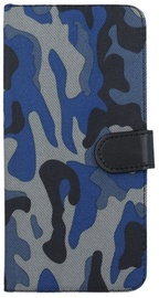 Forever Army Book Case For Apple iPhone 6/6s Dark Blue