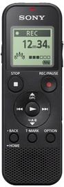 Diktofons Sony ICD-PX370, melna, 4 GB