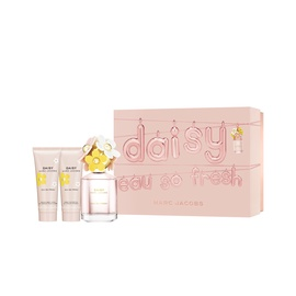 Marc Jacobs Daisy Eau So Fresh 75ml EDT + 75ml Shower Gel + 75ml Body Lotion New Design