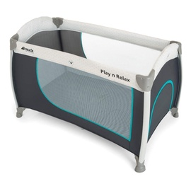 Hauck Play N Relax Travel Cot Hearts
