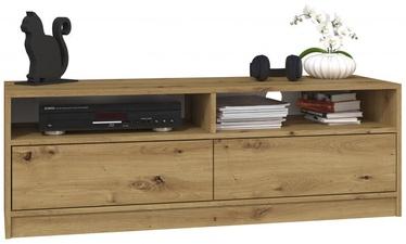 TV galds Top E Shop 120, brūna, 1200x400x450 mm