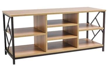 ТВ стол Signal Meble Tablo Oak/Dark Brown, 1200x400x540 мм