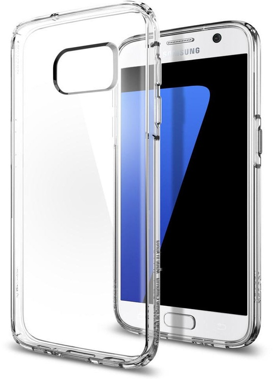 Spigen Ultra Hybrid Back Case For Samsung Galaxy S7 Transparent