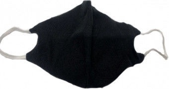 TakeMe Antibacterial 2-Layer Reusable Face Mask Black