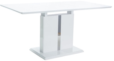 Обеденный стол Signal Meble Dallas White, 1100x760x750 мм