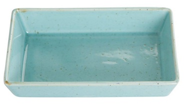 Porland Seasons Rectangular Plate With Sides 16.5x10.1cm Turquoise