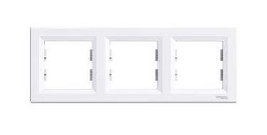 Schneider Electric Asfora Three Way Frame EPH5800321 White