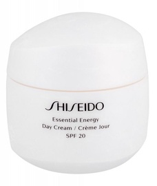 Sejas krēms Shiseido Essential Energy Moisturizing Day Cream SPF20, 50 ml