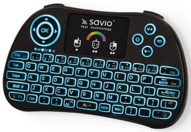 Savio KW-03 RGB Backlit Mini Wireless Keyboard