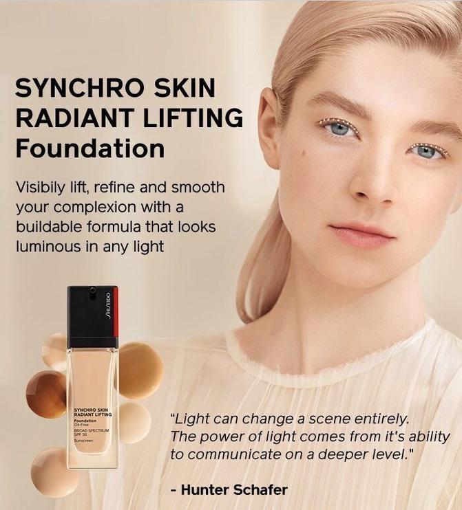 Tonizējošais krēms Shiseido Synchro Skin 130 Opal, 30 ml