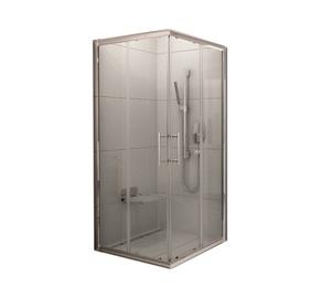 Dušas kabīne Ravak XP3RV2-90, kvadrātveida, bez paliktņa, 900x900x1900 mm