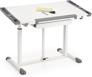Halmar B42 Desk White/Grey