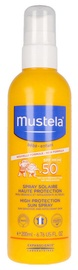 Солнцезащитный спрей Mustela Baby High Protection SPF50, 200 мл