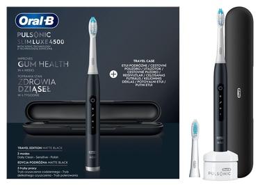Электрическая зубная щетка Braun Oral-B Pulsonic Slim Luxe 4500 Matte Black