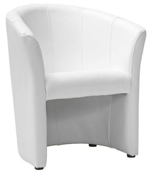 Atzveltnes krēsls Signal Meble TM 1 TM 1 White, 67x47x76 cm