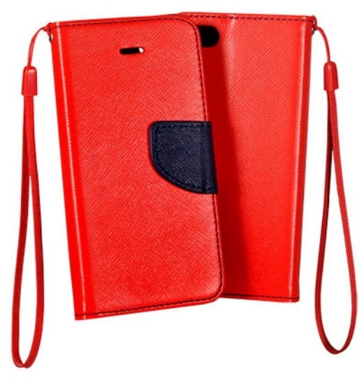 Mocco Fancy Book Case For Samsung Galaxy A5 A510 Red/Blue