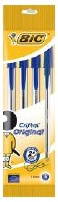 BIC Medium Cristal Original Ballpoint Pen Pack Blue 4pcs