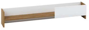 ML Meble Dallas 13 Hanging Shelf Walnut/White
