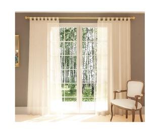 Domoletti Day Curtains Diana 140x245cm White