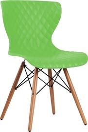 Apmeklētāju krēsls Home4you Charles 21023 Green