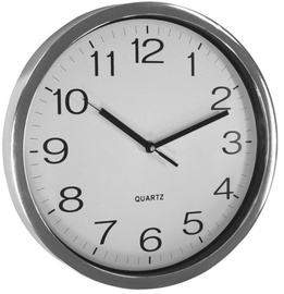 Asi Collection Wall Clock 31cm Silver