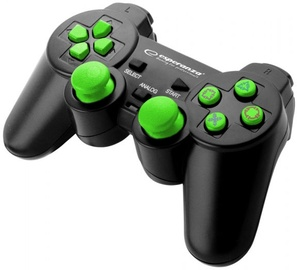Esperanza Corsair USB Gamepad Black/Green